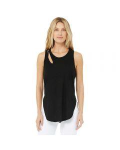 Alo Yoga Ribbed Peak Tank majica bez rukava
