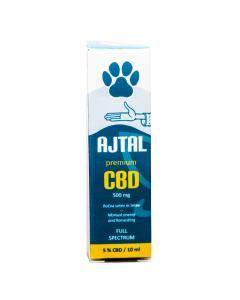 CBD kapljice Premium 5% za kućne ljubimce 10 ml