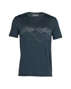 Merino muška majica s kratkim rukavima Spector Peak