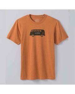 prAna Will Travel Journeyman kratka majica od organskog pamuka