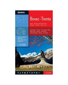 Planinski zemljevid Bovec - Trenta 1:25.000