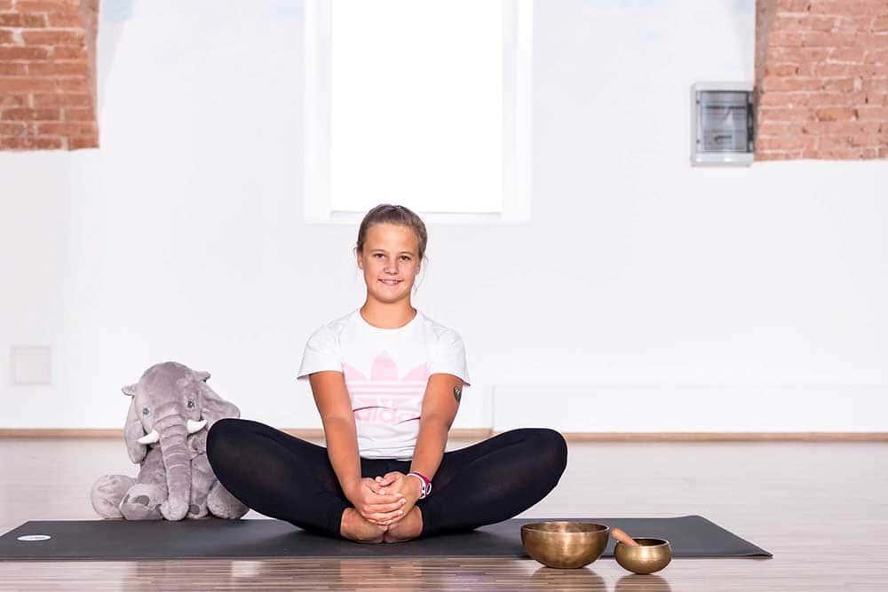 joga za djecu - leptir