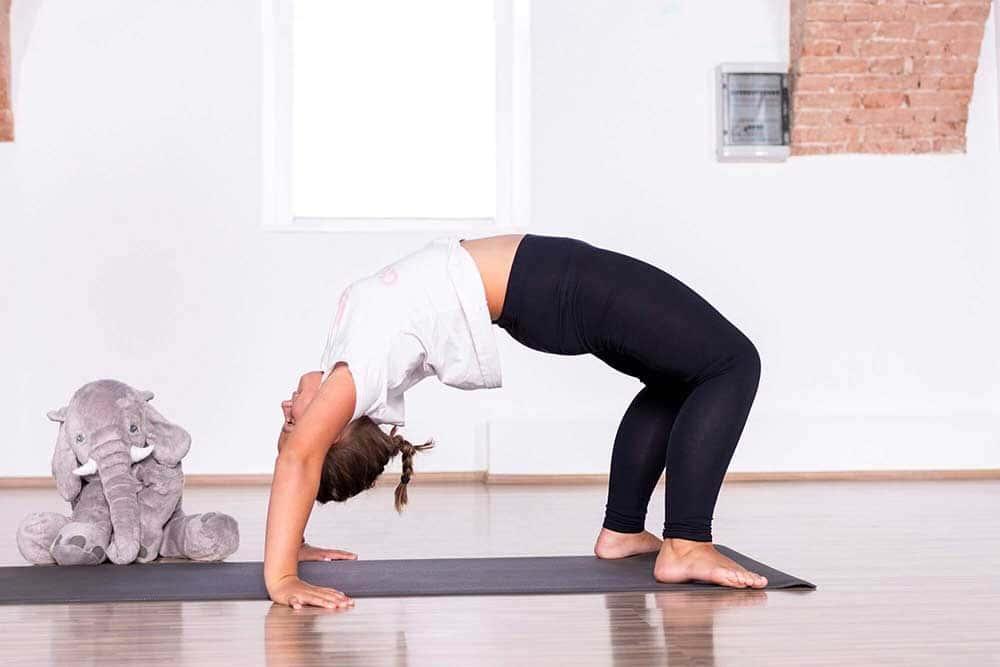 joga za djecu - veliki most