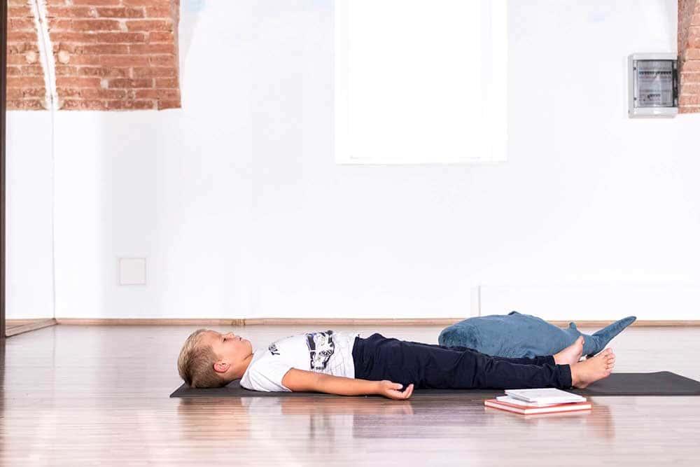 joga za djecu - savasana
